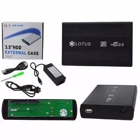 CASE P/ HD 3.5 USB 2.0/3.0 SATA  LOTUS