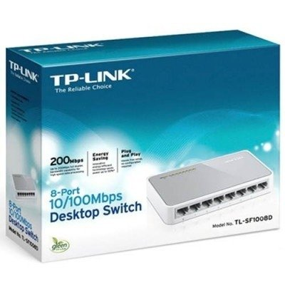 SWITCH 8 PORTAS 10/100 MBPS TP-LINK TL-SF1008D