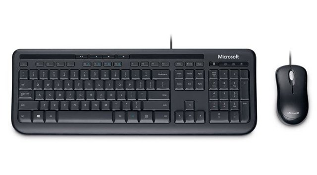 KIT TECLADO E MOUSE WIRED DESKTOP 600 MICROSOFT