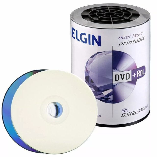 DVD-R 8,5GB DUAL LAYER ELGIN