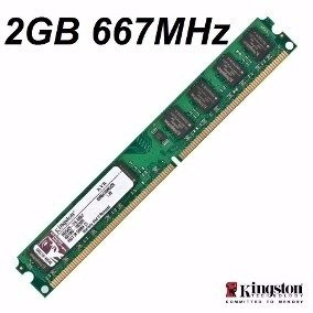 MEMORIA DDR2 2 GB 667 MHZ KINGSTON