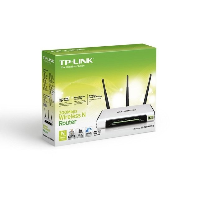 ROTEADOR WIRELESS TP-LINK TL-WR941ND 300MBPS 3 ANT