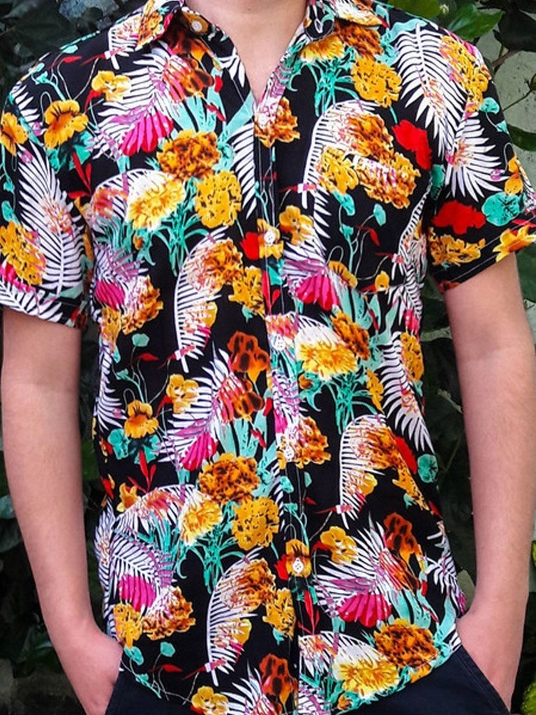 Camisa Floral Masculina - Exclusiva  22391392f67b5