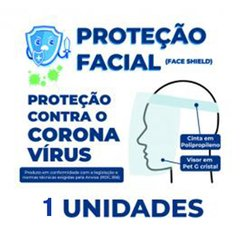 PROTETOR FACIAL - FACE SHIELD - PREMIUM