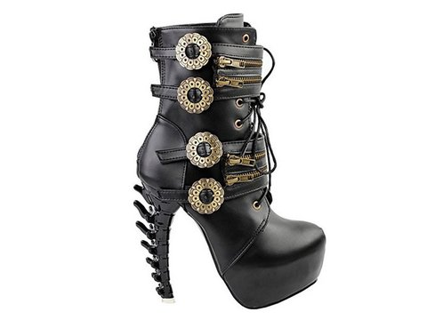 Bota FD Punk Black