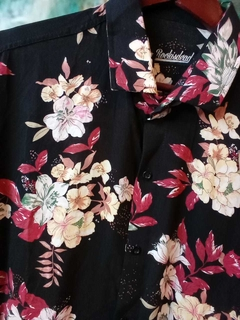 CAMISA FLORES TROPICAL - Homero young wear