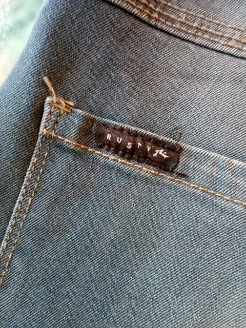 BERMUDA JEANS DISCERA LIGHT RUSTY
