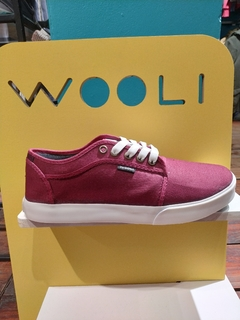 ZAPATILLAS WOOLI TX BORDO - Homero young wear