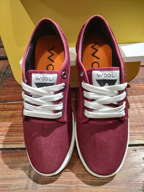 ZAPATILLAS WOOLI TX BORDO