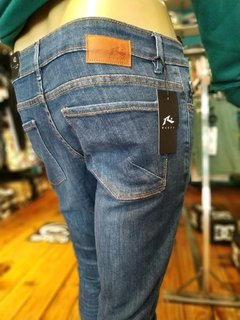 JEANS SHELTER BLUE RUSTY - Homero young wear