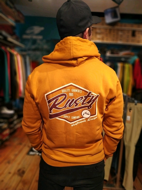 CAMPERA CANGURO RUSTY