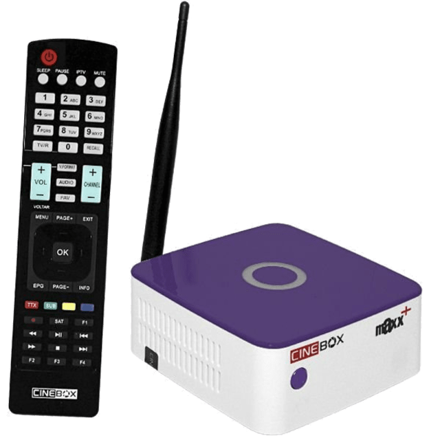 Receptor Cinebox Fantasia Maxx + Plus FTA IKS SKS 3D WiFi ACM