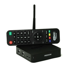 Receptor GoBox Freedom 4K ACM IPTV VOD NETLINK