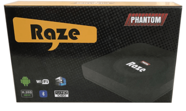 Receptor Phantom Raze HD Wi-Fi Full HD Android na internet