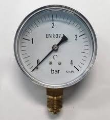 Manometro 0 a 315 bar para Regulador CO2 - comprar online
