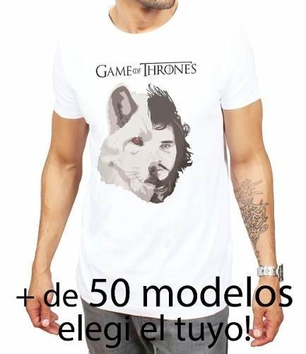 Excelentes Remeras Modelos Exclusivos Games Of Thrones