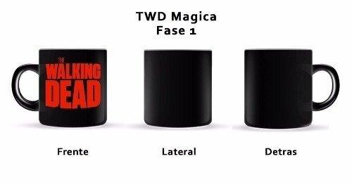Tazas Magica Mug The Walking Dead --- Modelo Exclusivo