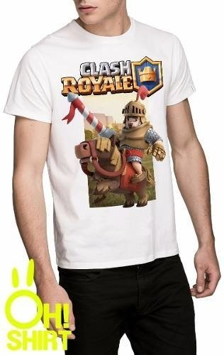 Excelentes Remeras Clash Of Clans Y Clash Royale