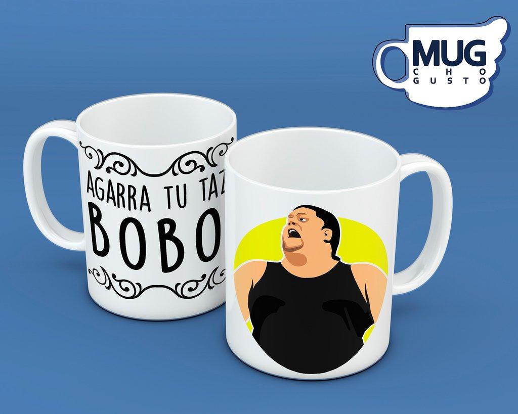 Agarra tu taza Bobo - Memes Mug