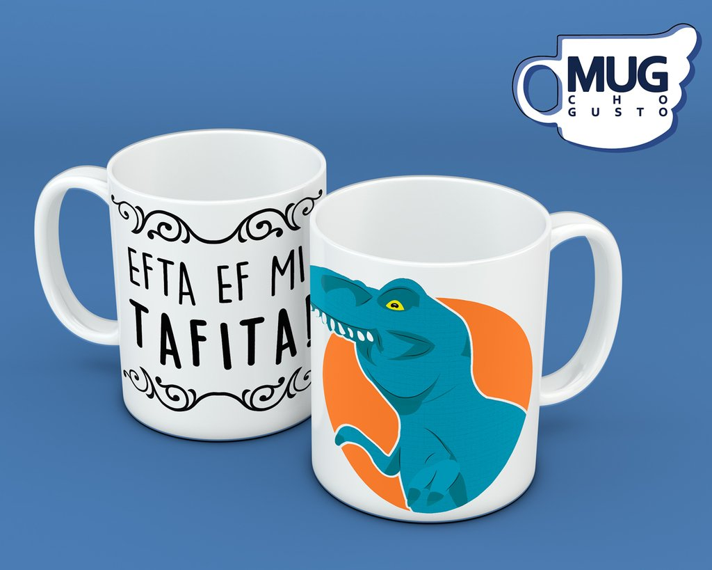 Efta ef mi tafita (Dino ffff) - Memes Mug