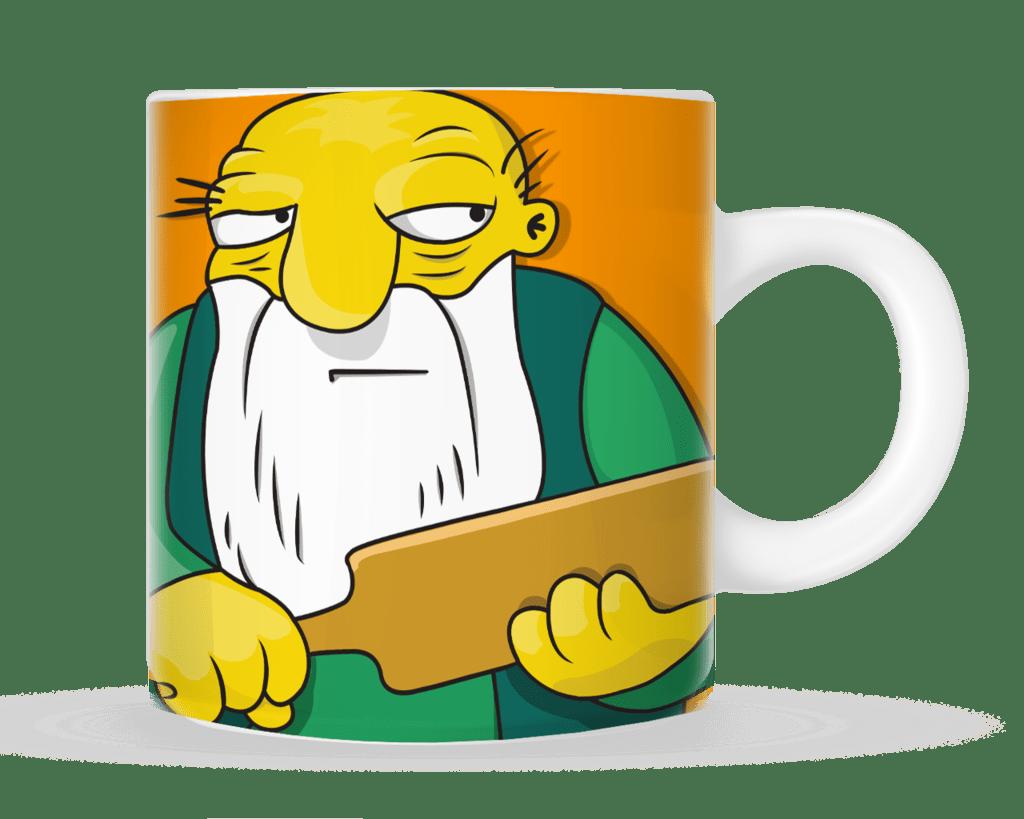 Tazas Gaspar Hay tabla - The Simpsons