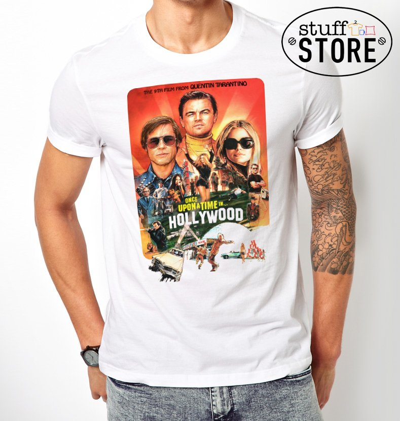 Remera Once Upon a time in Hollywood- Varios diseños