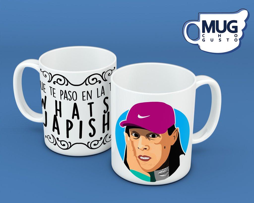 Que te paso en la taza? Whats Japish (Mala Fama) - Memes Mug