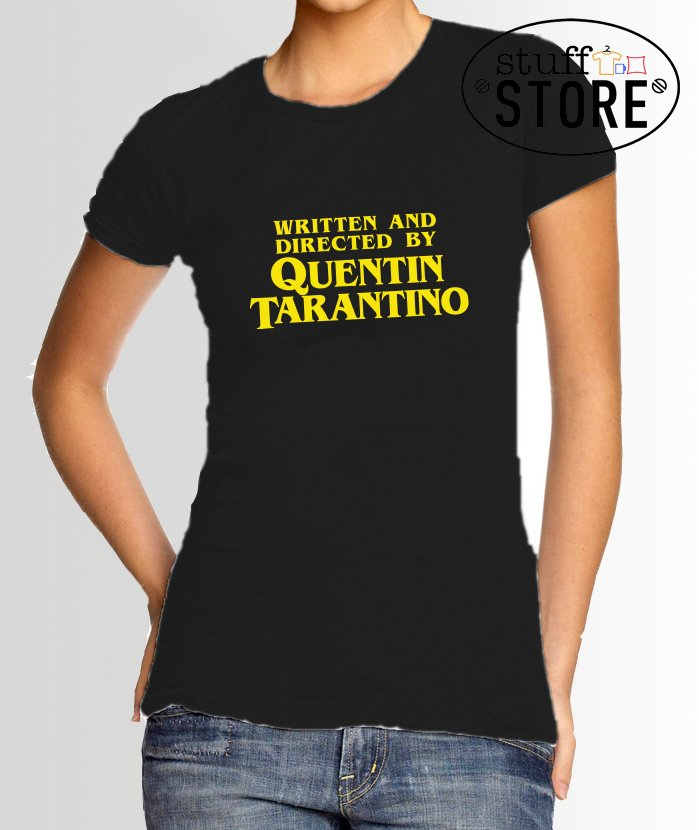Remeras Written and Directed by Quentin Tarantino Mujer