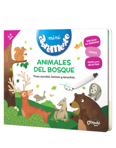 ANIMALES DEL BOSQUE - MINI ABREMENTE