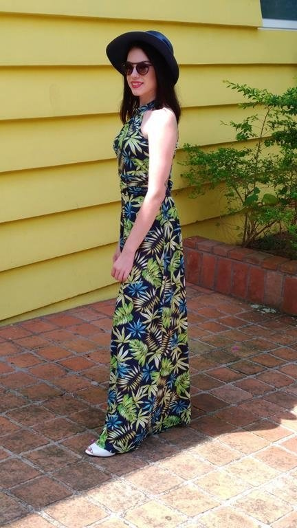 Bicler Botanic Navy Dress on internet