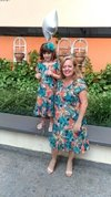 Short Mother and Daughter Tropical Dress - buy online