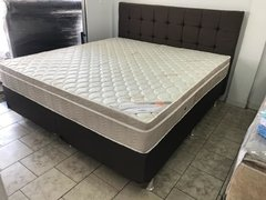 CONJUNTO CAMA BOX SUPER KING 193X203 ORTOBOM COLCHAO LIGHT SUPER POCKET na internet