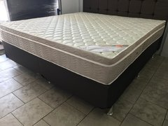 CONJUNTO CAMA BOX SUPER KING 193X203 ORTOBOM COLCHAO LIGHT SUPER POCKET