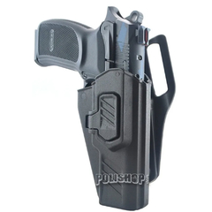 Funda Pistolera Polimero Nivel 2 Bersa Pro 9 Cal 9MM Houston