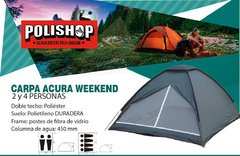 CARPA ACURA WEEKEND - 2/4 PERSONAS
