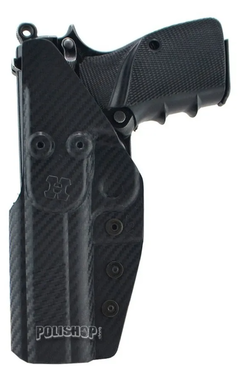 Pistolera Interna Kydex Fibra De Carbono Browning Hi Power