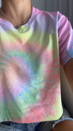 Banner da categoria Cropped tie dye adulto