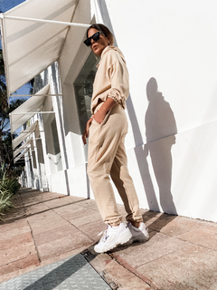 JOGGER CLYDE // BEIGE - ROSEWOOD