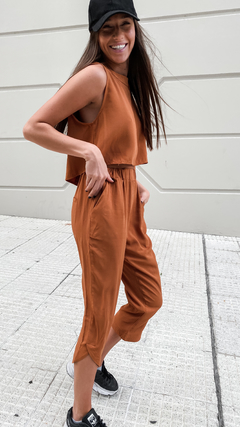 PANTALON LONDON // CAMEL