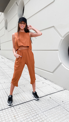 PANTALON LONDON // CAMEL en internet