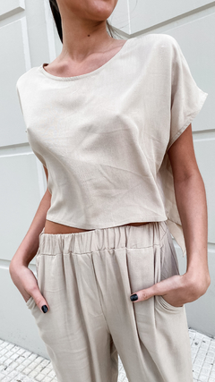 BLUSA LONDON // BEIGE en internet
