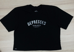 t-shirt depressed but well dressed - comprar online