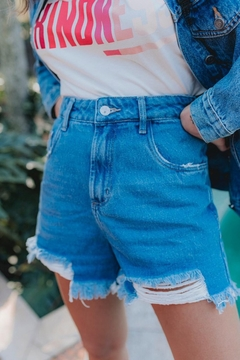 shorts jeans sorella destroyed