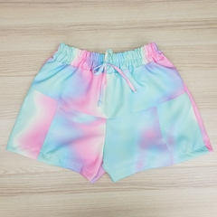 shorts tie-dye candy color - comprar online