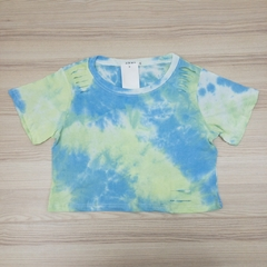 t-shirt cropped destroyed tie-dye - dolshop