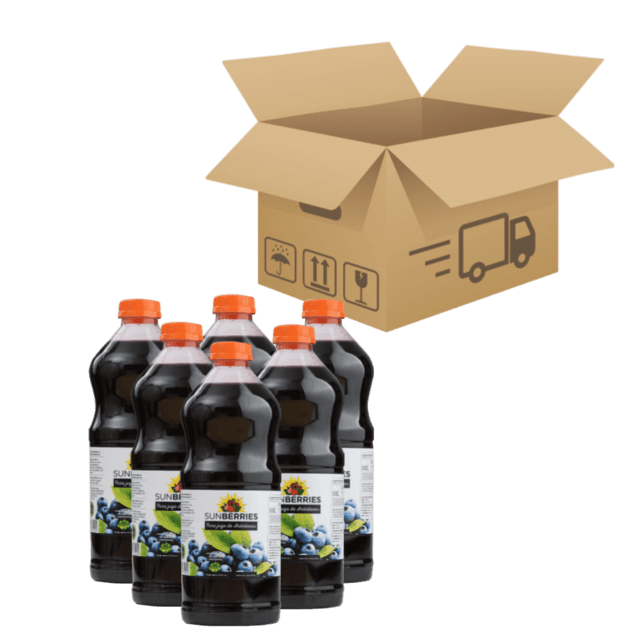 Caja Jugo Arandanos 500ml x 12u - Sunberries