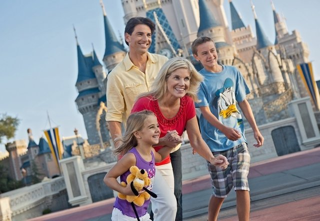 DISNEY - 7 DIAS - Visite 1 PARQUE POR DIA: MAGIC KINGDOM, DISNEY'S HOLLYWOOD STUDIOS, EPCOT E DISNEY'S ANIMAL KINGDOM