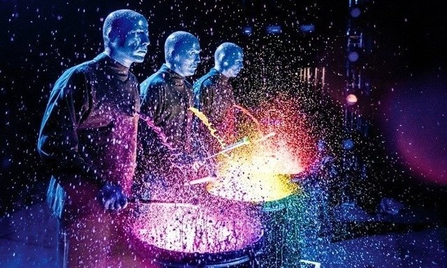 BLUE MAN GROUP (CATEGORIA PONCHO (LUGAR) ADULTO (10 ANOS OU +)