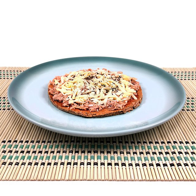Pizza Low Carb de Atum com Mussarela Light (130g)