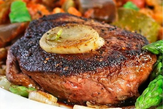 Steak de Alcatra, Arroz Integral e Ratatouille (350g) - comprar online